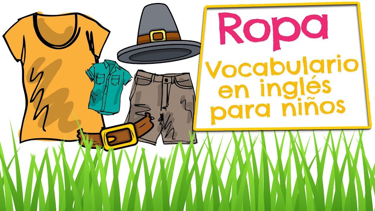 Put Away Clothes En Espanol ~ Ropa en inglés para niños vocabulario de prendas