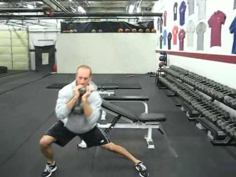 EricCressey.com: Dumbbell Goblet Lateral Lunges