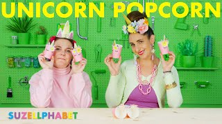 UNICORN POPCORN LOLLIES!!