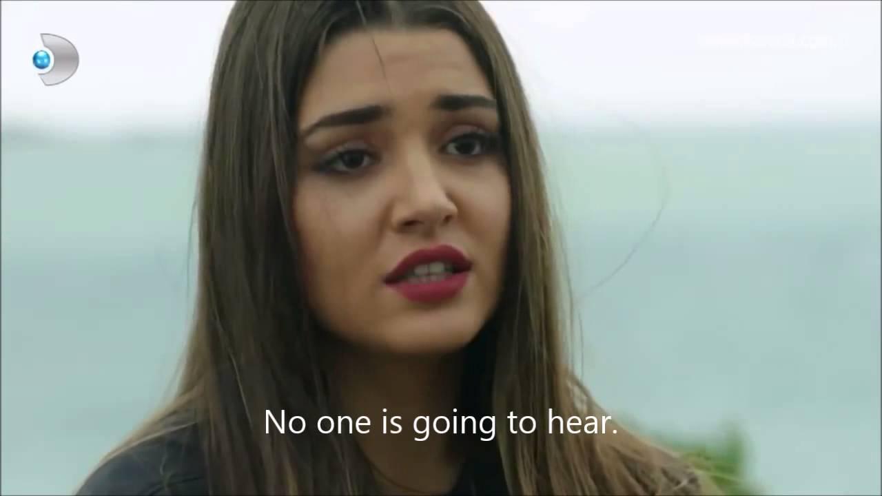 Gunesin kizlari 16  episode English Subtitles Selin tells Ali she loves him