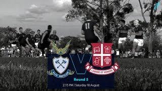 GPS Rugby R5 2018: Anglican Church Grammar School v Ipswich Grammar School