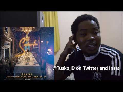 Zakwe - Sebentini (Remix) ft Kwesta, Cassper Nyovest, PRO, HHP. REACTION VIDEO || Tusko_D REACTS