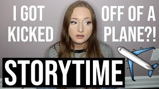 i got kicked off of a plane!? EMBARRASSING storytime