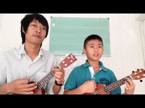 เบาเบา ukulele cover at music Road