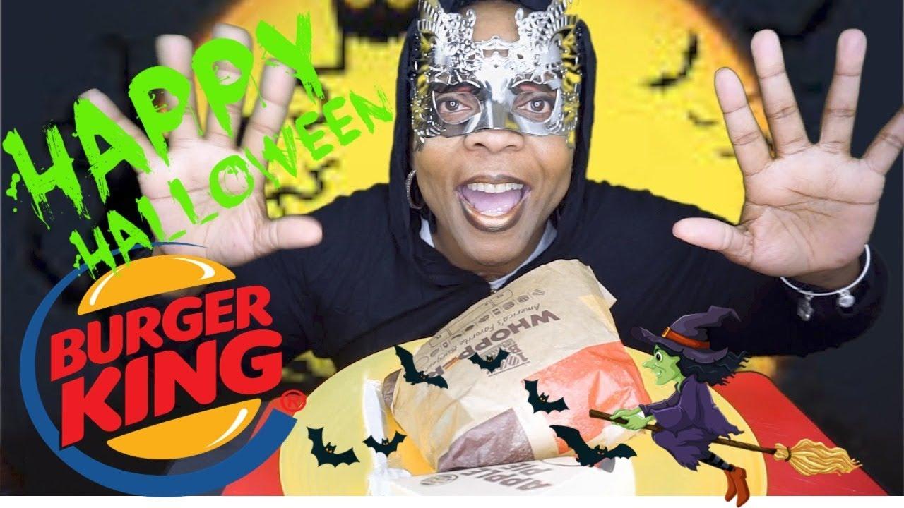 Asmr Happy Halloween Burger King Whopper