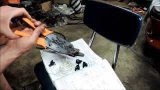 Make a Fuel Injector Wiring Harness