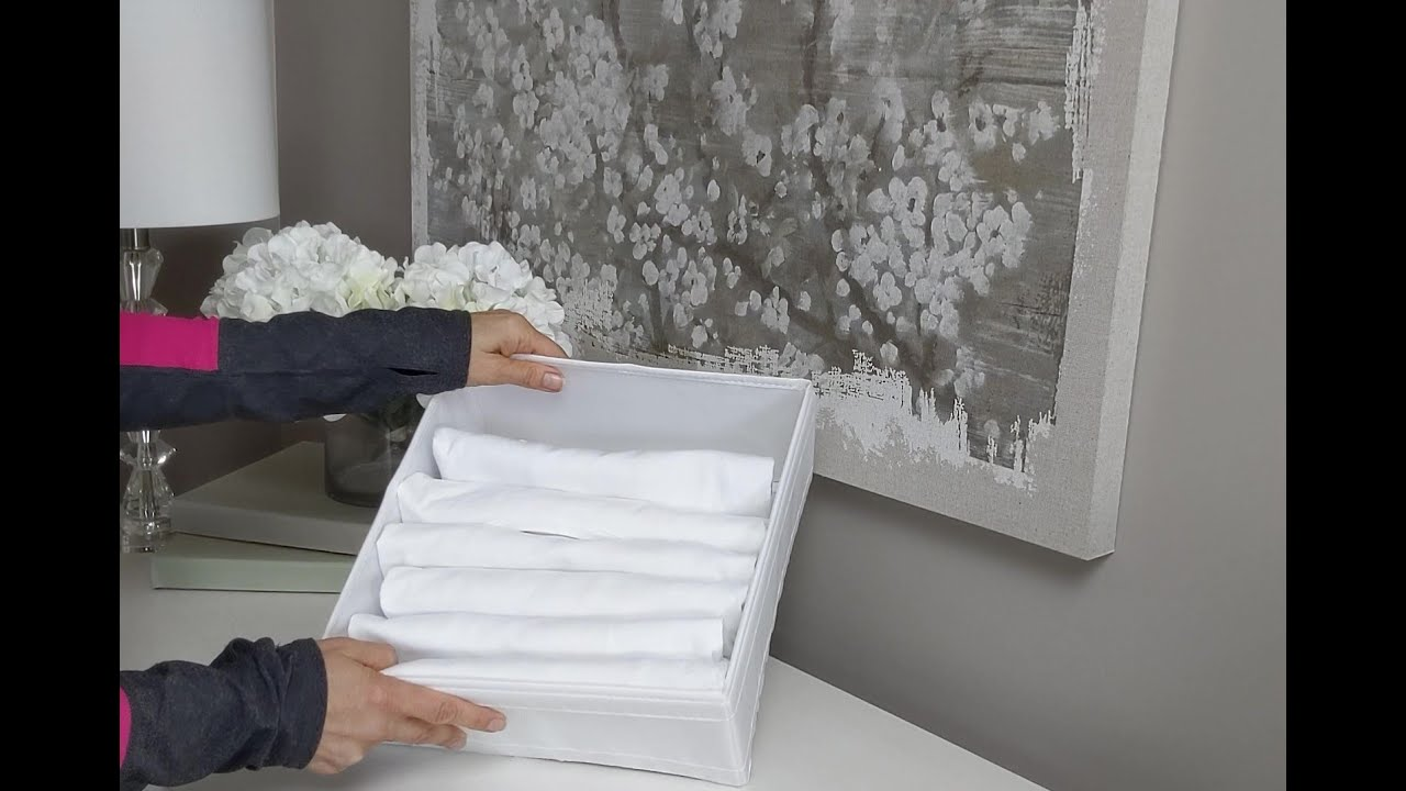 How to Fold & File Your T-shirts