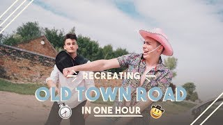 Baixar Remaking Lil Nas X - Old Town Road ft. Billy Ray Cyrus in ONE HOUR!! ONE HOUR SONG CHALLENGE