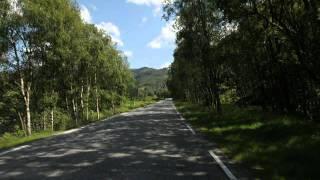 Biltur fra Ålgård til Hunnedalen på tre minutter!