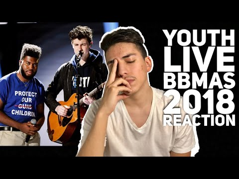 Youth- Shawn Mendes ft Khalid LIVE BILLBOARDS 2018 Reaction  E2 Reacts