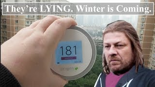 Winter Air Pollution in China | AQI Apps are LYING To You. THIS is the Real Deal | The Laser Egg