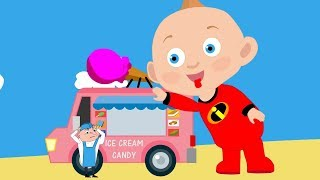 Incredibles 2D   Jack Parr ICE CREAM TRUCK