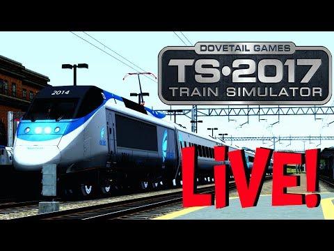 Train Simulator 2017 - The Legend Returns (Live Stream)