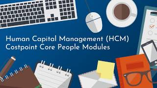 This video details deltek's human capital management capabilities, the different sections that make it up, and how costpoint's core people modules help you m...