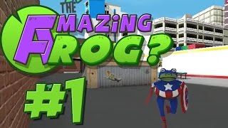 """Let's Play """"Amazing Frog?"""" 4-Player [Part 1]"""