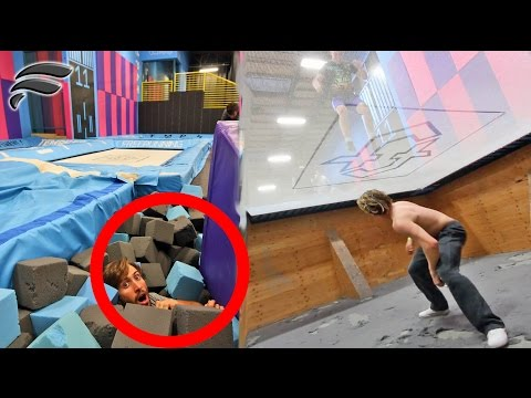Thumbnail: HIDE AND SEEK IN SUPER TRAMPOLINE PARK