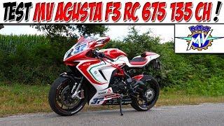 #MotoVlog 175 : Test MV AGUSTA F3 RC 675 135 CH / LA MOTO LA PLUS BRUYANTE JAMAIS TESTÉE !😍
