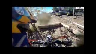 Megan Griffiths: Crashes in Red Bull Rocks and Logs 2014
