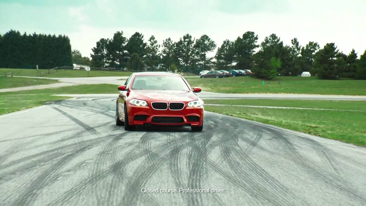 BMW The Ultimate Driver - J-Turn - YouTube