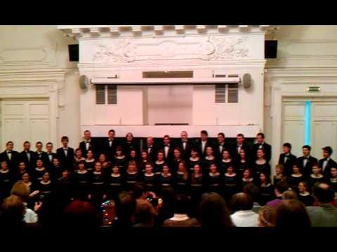 Казанская хоровая капелла КФУ 2011 Gaudeamus