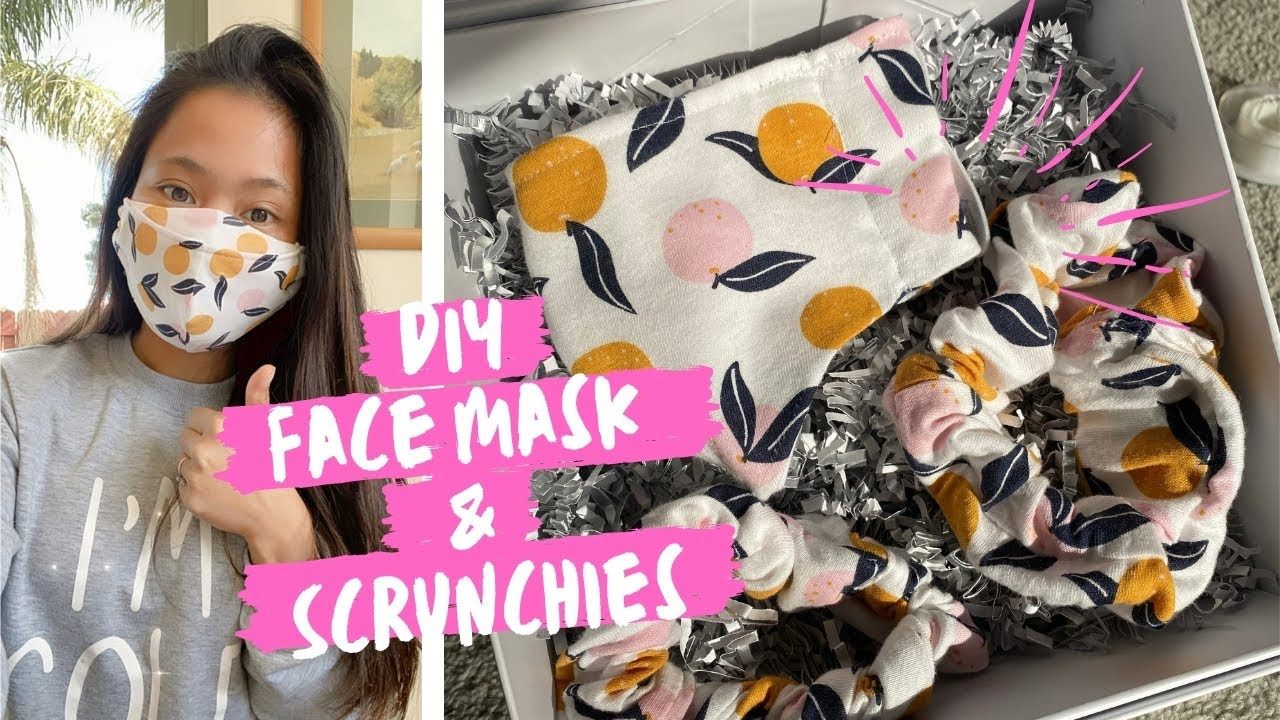 DIY Face Mask & Scrunchies   Ready na for business!