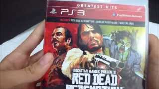 Unboxing: Red Dead Redemption GOTY PS3 [BR]
