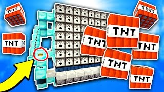 EXPLODING TNT CANNON MINECRAFT TROLL!