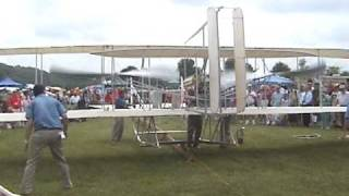 1909 ENGINE START, WRIGHT MILITARY FLYER, COLLEGE PARK, MD