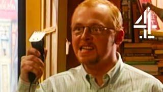 Video Simon Pegg Tries To Shave Bill Bailey | Black Books download MP3, 3GP, MP4, WEBM, AVI, FLV Juni 2018