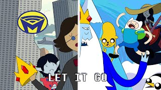 Let It Go - Adventure Time - Darby Cupit Cover