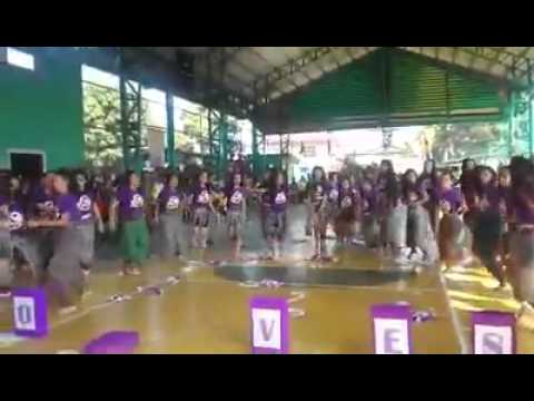 Kin Yang Academy cheer dance competition February 12,2015 VIOLET WOLVES
