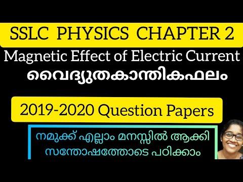 SSLC PHYSICS |