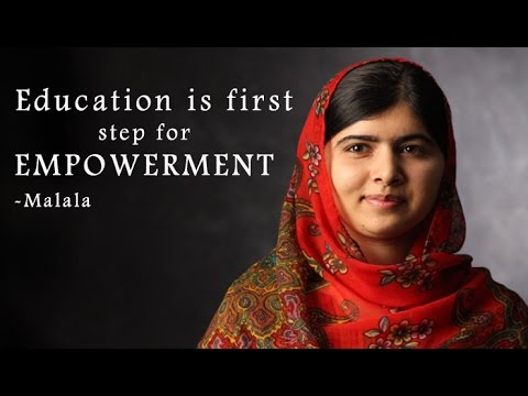 Malala's inspirational speech to empower women : NewspointTV