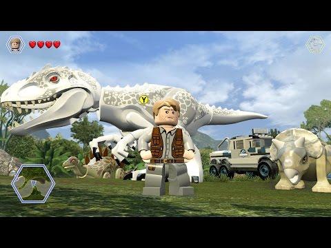 LEGO Jurassic World - Free Roam Gameplay #4 (PC) [HD]
