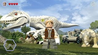 LEGO Jurassic World - Free Roam Gameplay #4 (PC) [HD]