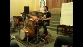 LORENZO TUCCI masterclass at LA CASA DEL BATTERISTA