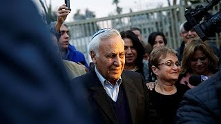 Israel's ex-president freed from jail after serving five years for rape