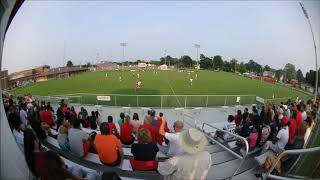 West noble soccer game 2018 2