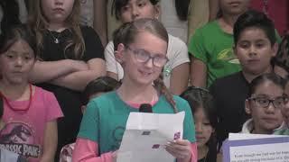 Elmdale Elementary 4th Grade Program   America
