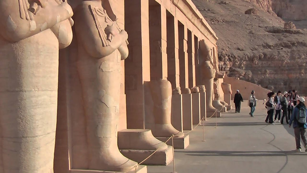 Mortuary Temple Of Hatshepsut Is Located Beneath The