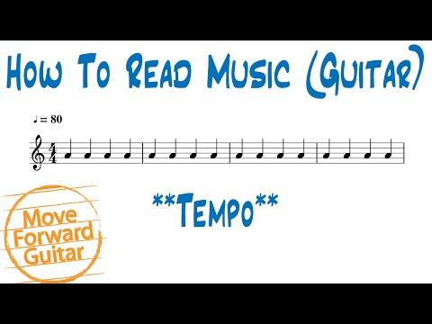 How to Read Music (Guitar) - Tempo