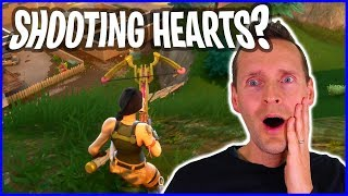Valentine's Day Heart Crossbow in Fortnite!