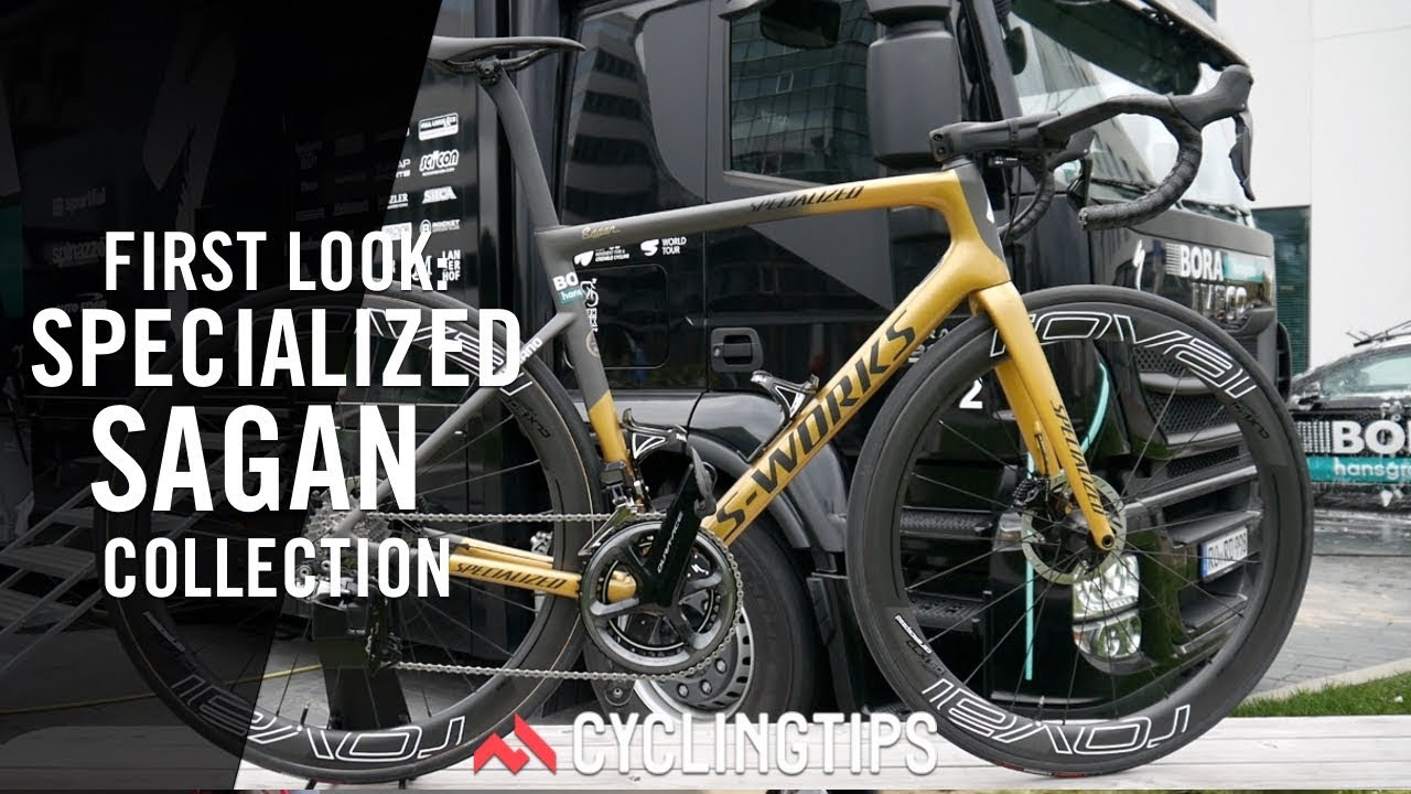 23edd8fa96f Custom colours for Sagan: The Specialized Sagan Collection - YouTube