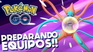 PREPARANDO EQUIPOS DE SUBS PARA DEOXYS Y MEWTWO!!   780   Pokemon GO