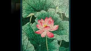 Картины из яичной скорлупы. Мозаика из скорлупы