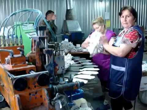 Производство рабочих перчаток в селе Дворики