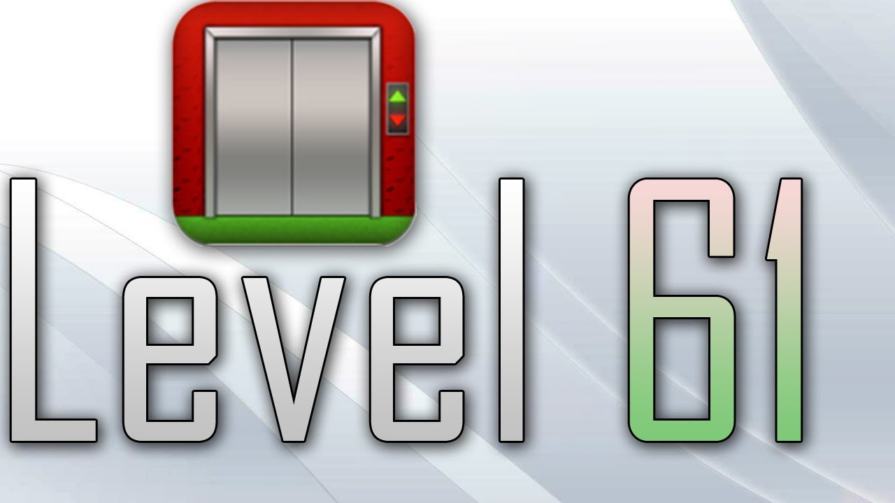 100 Floors Level 61 Walkthrough Solution All Levels