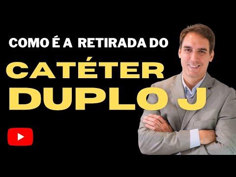 Catéter Duplo J Calcificado Dr Daniel Luís Pinto Ferreira Youtube