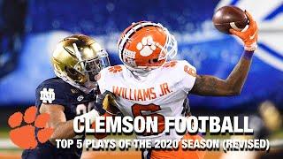 Clemson Football: Top 5 Plays Of The 2020 Season