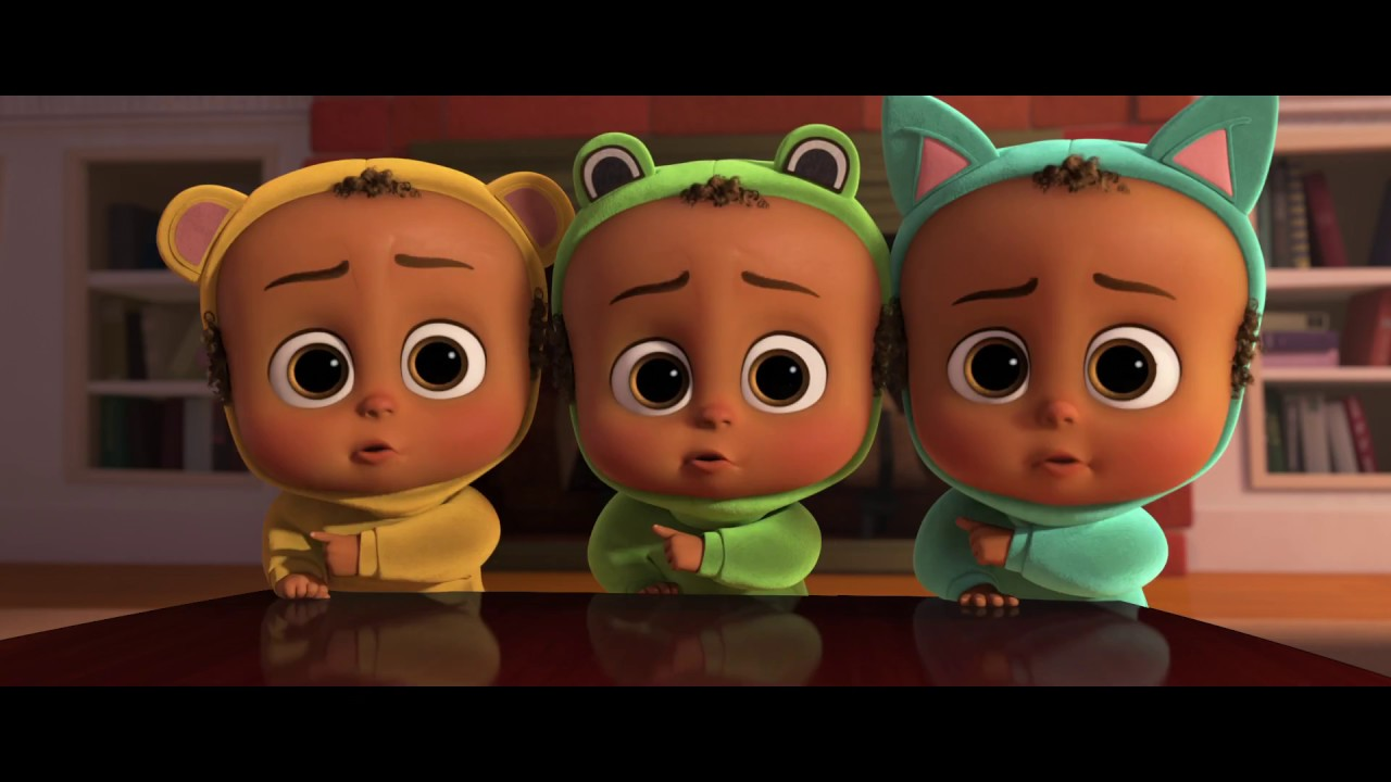 Baby f (The Boss Baby) - 2. oficilny trailer - YouTube